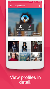 Zoomie for Instagram: View Big HD Profile Pictures 1.3.0.2 Screenshots 4