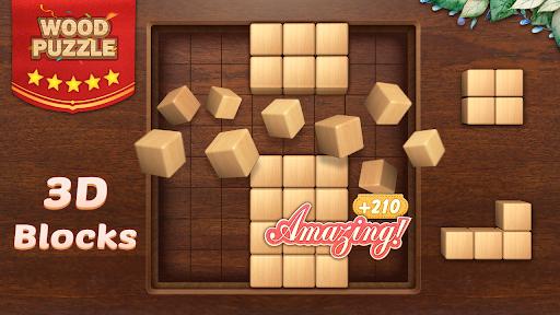 Wood Block Puzzle 3D - Classic Wood Block Puzzle apktram screenshots 10