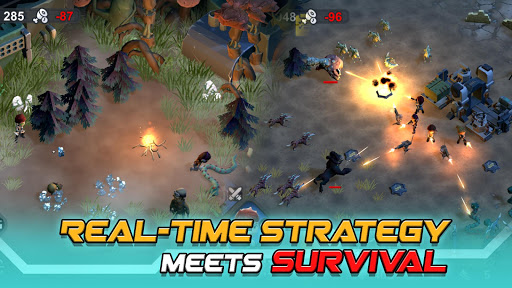 Strange World - Offline Survival RTS Game android2mod screenshots 2