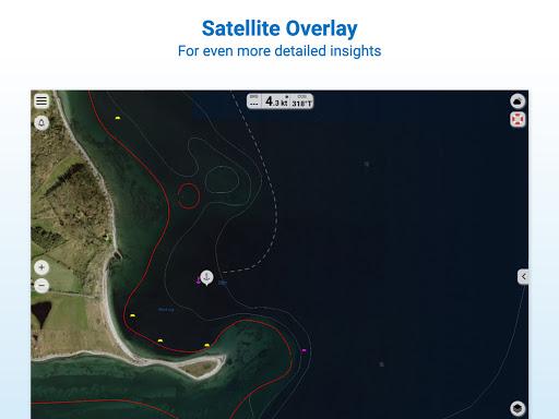 NV Charts GPS Navigation AIS android2mod screenshots 20