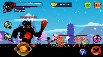 Stickman Ghost: Ninja Warrior: Action Game Offline