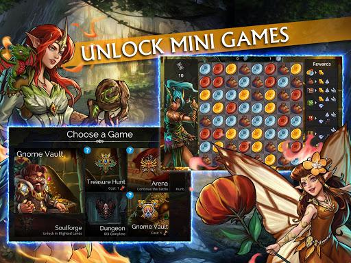 Gems of War - Match 3 RPG screenshots 9