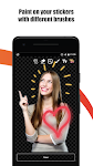 screenshot of Create stickers for WhatsApp - StickerFactory