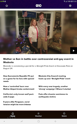 Northern California News from ABC10 42.9.18 screenshots 9