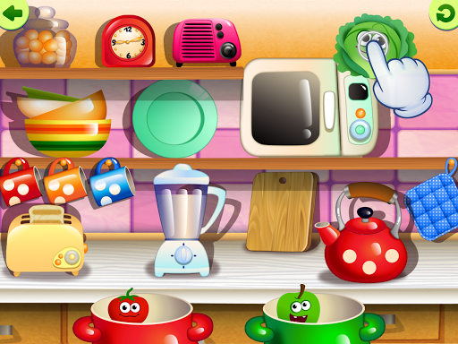 FunnyFood Kindergarten learning games for toddlers 2.4.1.19 Screenshots 14