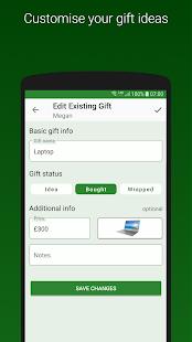 Gift Tracker - Christmas and Birthday Gift Lists!