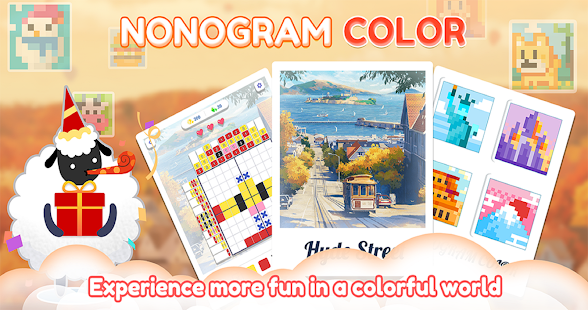 Nonogram Color:Picture Cross Puzzle 1.1.8 screenshots 1