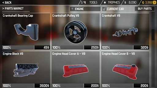 Car Mechanic Simulator 1.3.8 screenshots 11