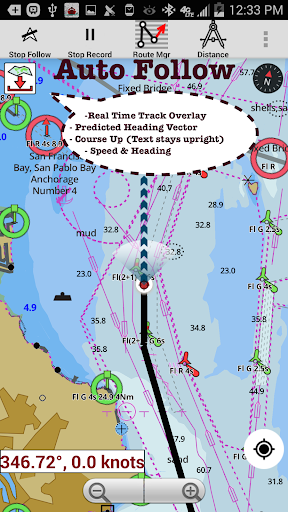 i-boating:marine navigation maps & nautical charts screenshot 1