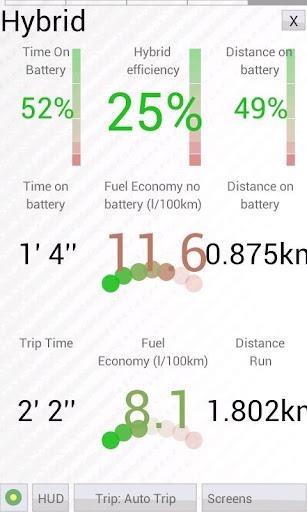 HobDrive OBD2 ELM327, car diagnostics, trip comp 1.6.12 Screenshots 8