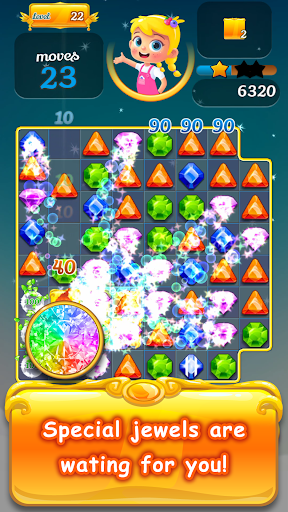 New Jewel Pop Story: Puzzle World 1.1.15 screenshots 1