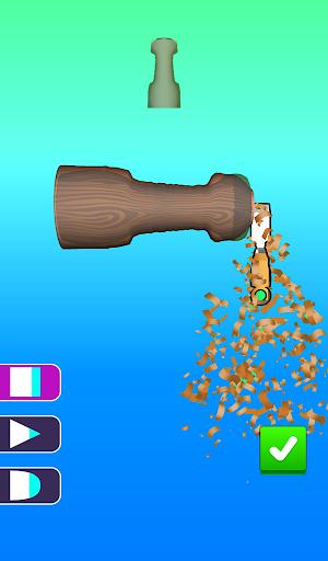 Télécharger Gratuit Wood Turning Game | Stress Busting Lathes Vertical apk mod screenshots 6