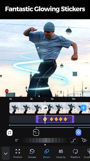 GoCut - Glowing Video Editor screen 2
