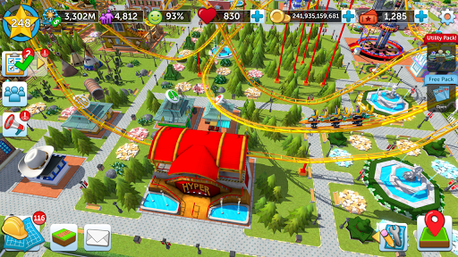 RollerCoaster Tycoon Touch - Build your Theme Park goodtube screenshots 8