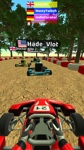 Code Triche Kart Rush 3D (Astuce) APK MOD screenshots 2