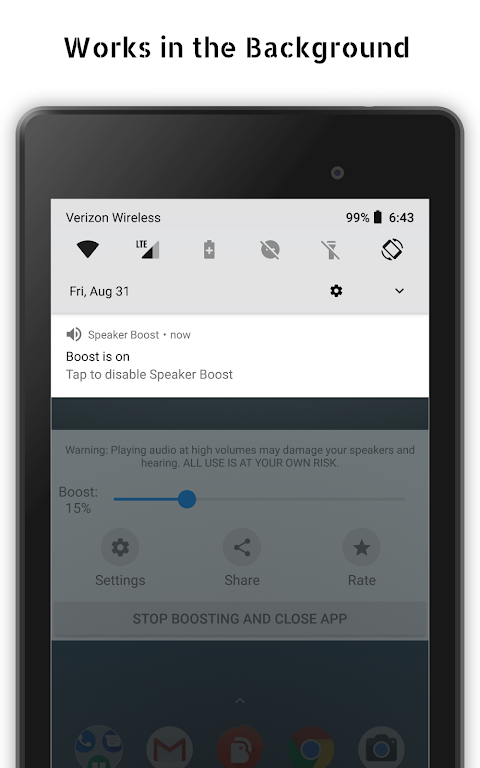 Speaker Boost: Volume Booster & Sound Amplifier 3D  poster 13