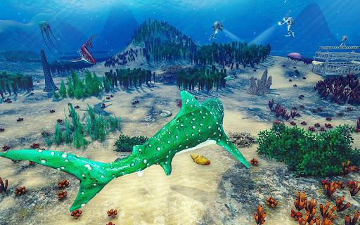 Angry Shark Ocean Simulator  screenshots 6