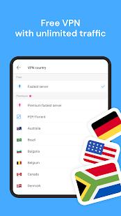 Aloha Browser Turbo - private browser + free VPN 3.9.1 Screenshots 8