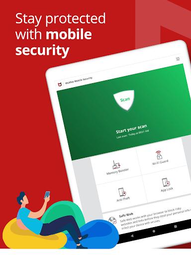 Mobile Security: VPN Proxy & Anti Theft Safe WiFi 5.7.0.534 Screenshots 9
