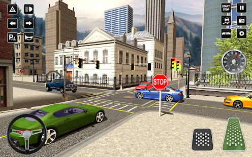 3D Driving School Simulator: City Driving Games 1.6 Screenshots 8