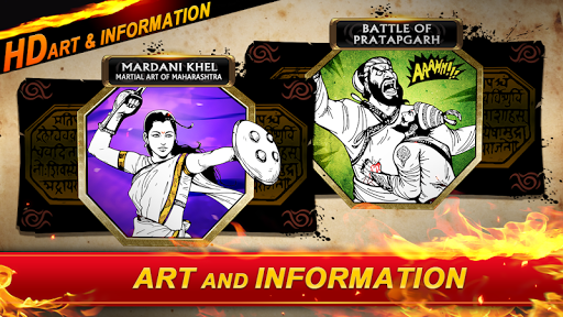 Legend Of Maratha Warriors - Informative Game 2 screenshots 24