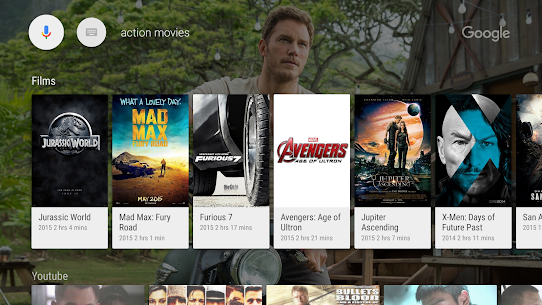 Google app for Android TV 2
