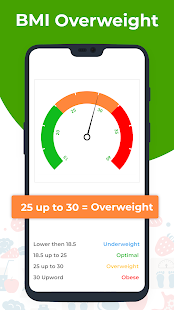 BMI Calculator - Check your BMI (Body Mass Index) Screenshot
