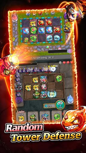 Magic Stone Arena: Random PvP Tower Defence Game 2.0.0 screenshots 1