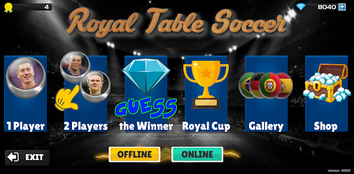 Royal Table Soccer 40006 screenshots 1