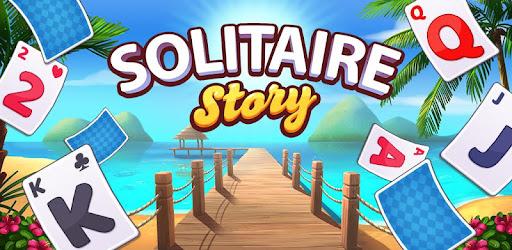 Screenshot of Solitaire Story Tripeaks Top Free Soli Card Game