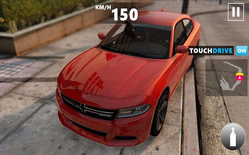 Mustang Dodge Charger: City Car Driving & Stunts  Screenshots 3