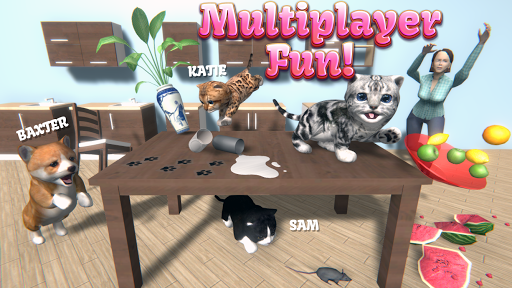 Cat Simulator - and friends 🐾 screenshots 1