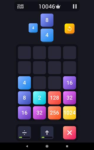 2048: Drop And Merge 1.3 screenshots 8
