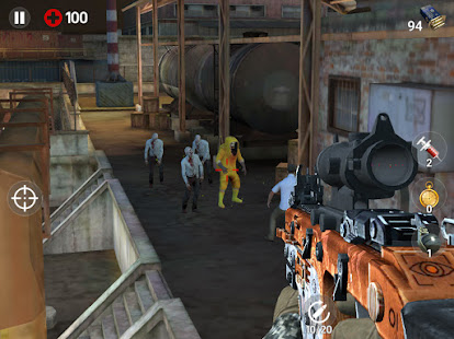 Image For Dead Fire: Zombie shooting Versi 1.3.3.7 17