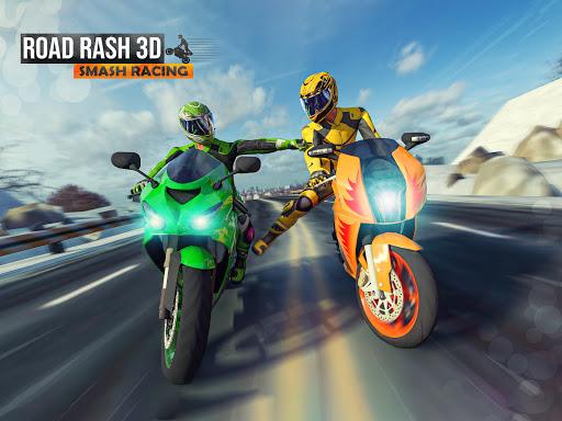 Road Rash 3D: Smash Racing apkpoly screenshots 10