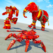 Spider Tank Robot Car Game – Elephant Robot Game