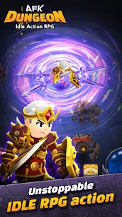 AFK Dungeon Mod Apk: Idle Action RPG (Unlimited Gold/Diamonds) 4