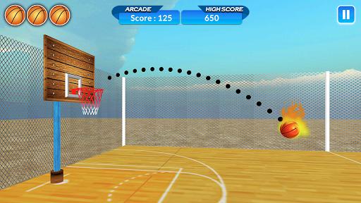 Basketball Shoot - Dunk Hitting 1.2 screenshots 1