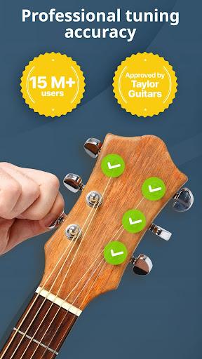 Chromatic Guitar Tuner Free: Ukulele, Bass, Violin 2.4.9 Screenshots 1