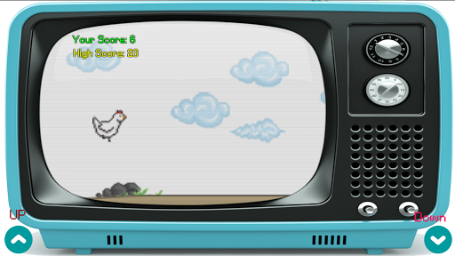 chicken run on old television screenshot 3