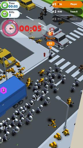 zombie crowd city screenshot 2