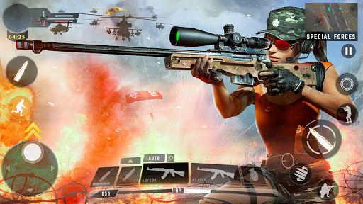 Free Fire Game 2021- FPS Shooting Game 1.9 screenshots 7