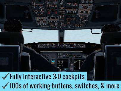 X-Plane Flight Simulator Mod Apk 11.7.0 (Unlocked All Modes) 10