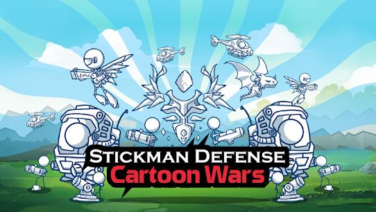 Stickman Defense Cartoon Wars MOD APK 1