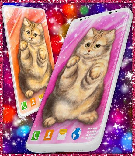 Cute Cat Live Wallpaper u2764ufe0f Fluffy Kitty Wallpapers modavailable screenshots 6