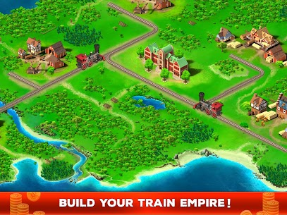 Idle Train Empire Mod Apk (Unlimited Money/Gold) 6