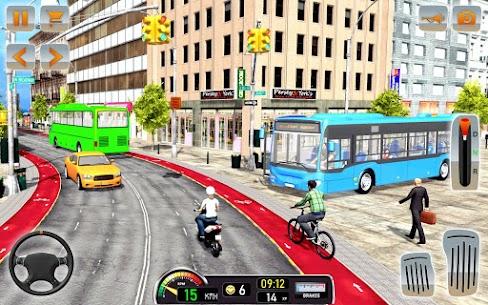 Modern Bus Driving Simulator: Bus Games 2021 8