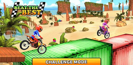 Bike Beach Game: 3D Stunt & Racing Motorcycle Game  screenshots 12