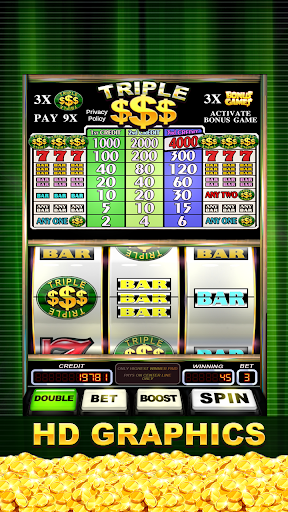 Triple Gold Dollars Slots Free screenshots 2
