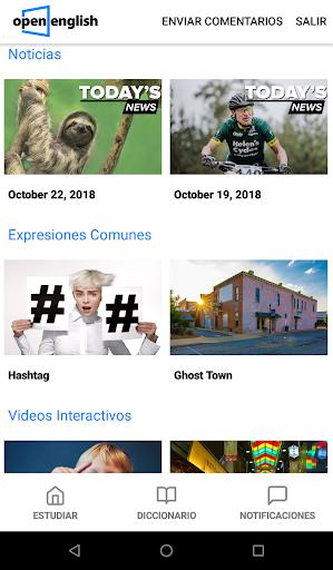 Open English (Only students) apktram screenshots 2
